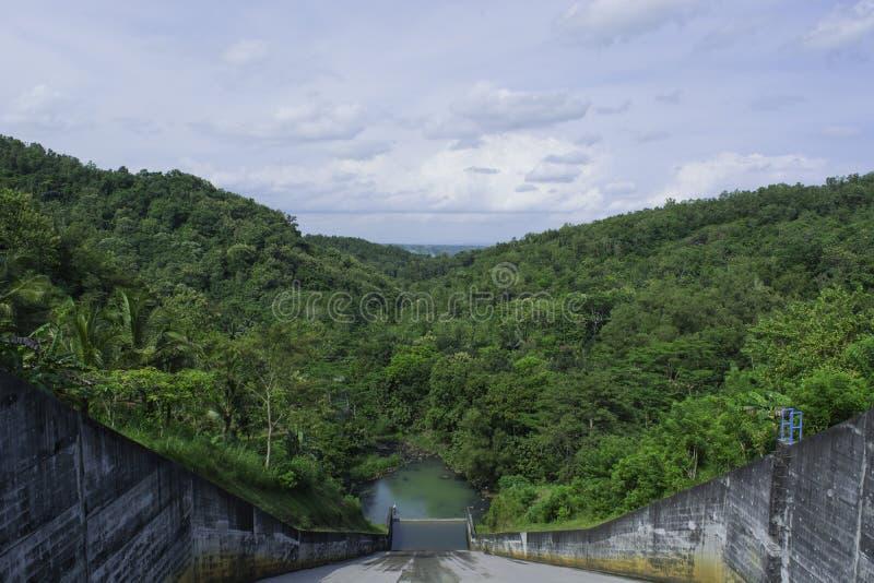 Spillway stock photo