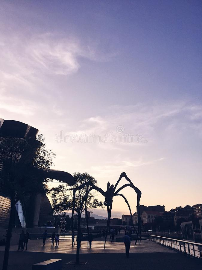 Spin Bilbao royalty-vrije stock afbeeldingen