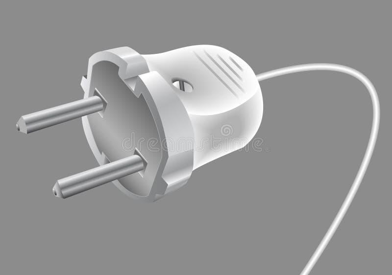 Spina elettrica illustrazione di stock