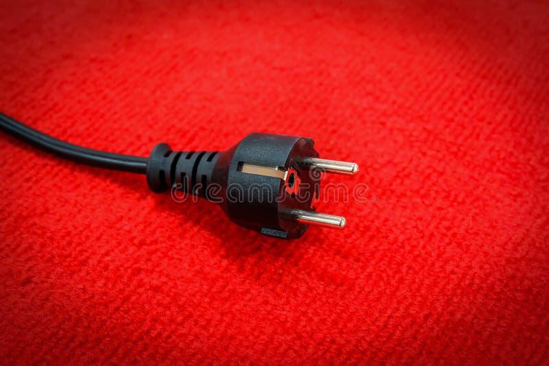 Spina elettrica immagine stock