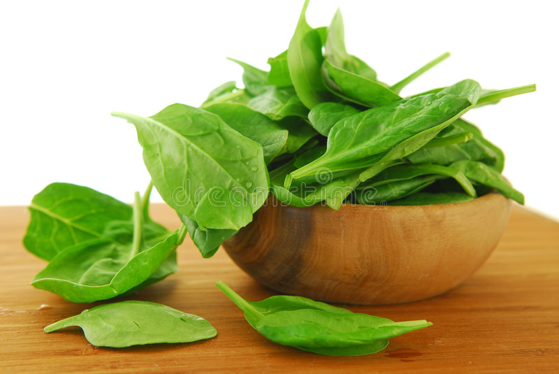 Spinach royalty free stock images