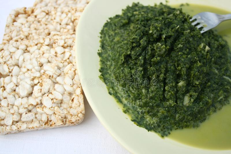 Spinach food stock photo