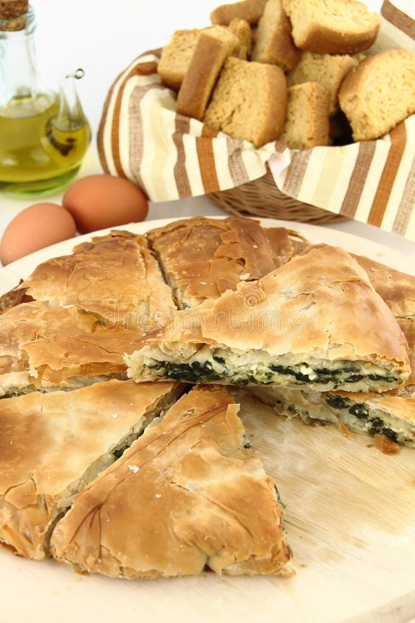 Free Spinach Pie Stock Images - 19631834