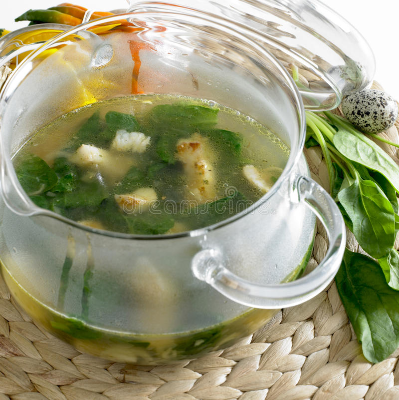 Download Spinach soup stock photo. Image of lifes, inside, soup - 10163120