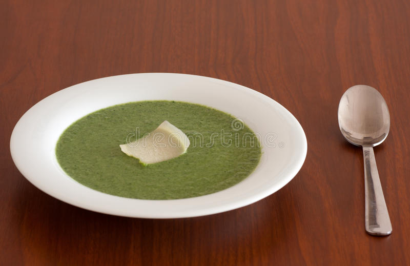 Download Spinach soup stock photo. Image of liquid, parmesan, cream - 23955740