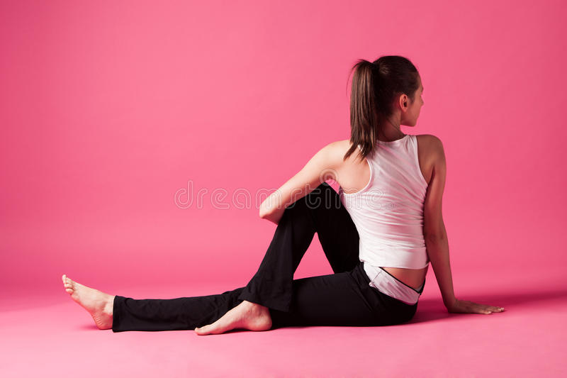 Download Spinal extension stock photo. Image of pink, young, body - 31068268