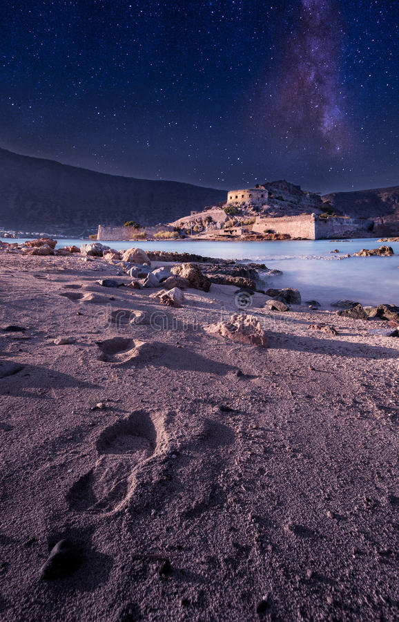 Spinalonga, Crète photographie stock