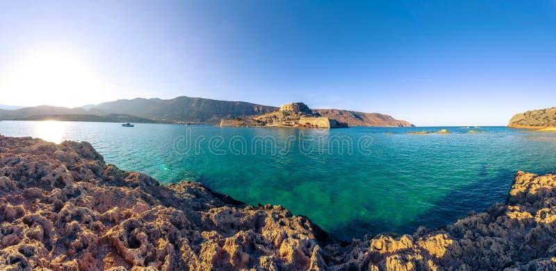 Spinalonga, Crète photos libres de droits