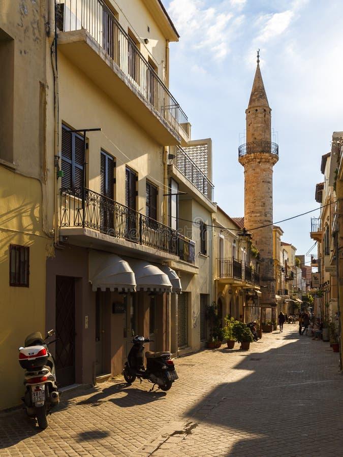 Spinalonga, Crete imagen de archivo