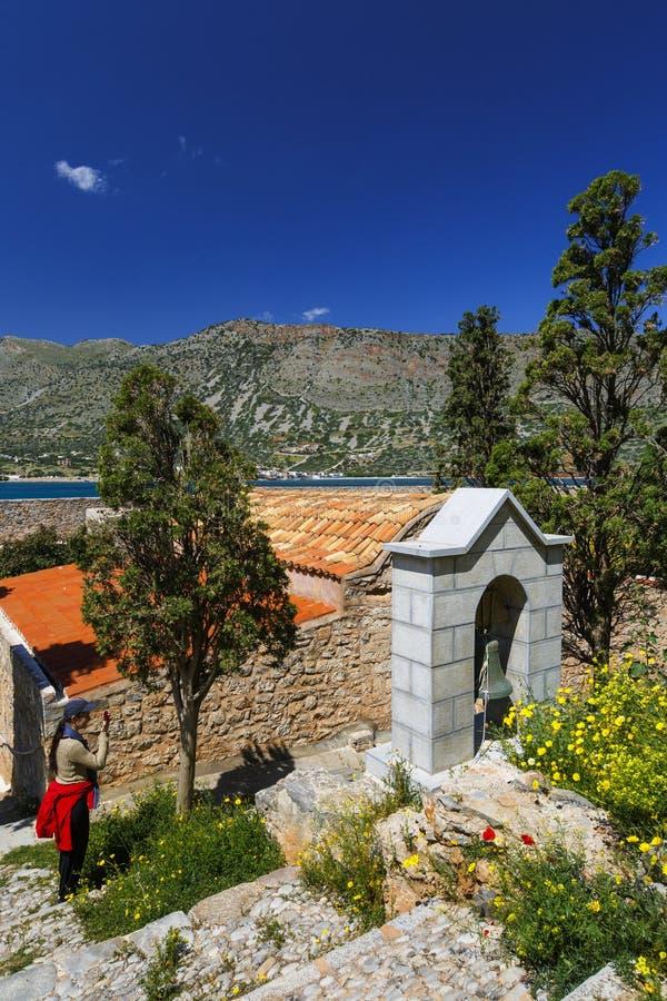 Spinalonga, Crete fotografía de archivo libre de regalías