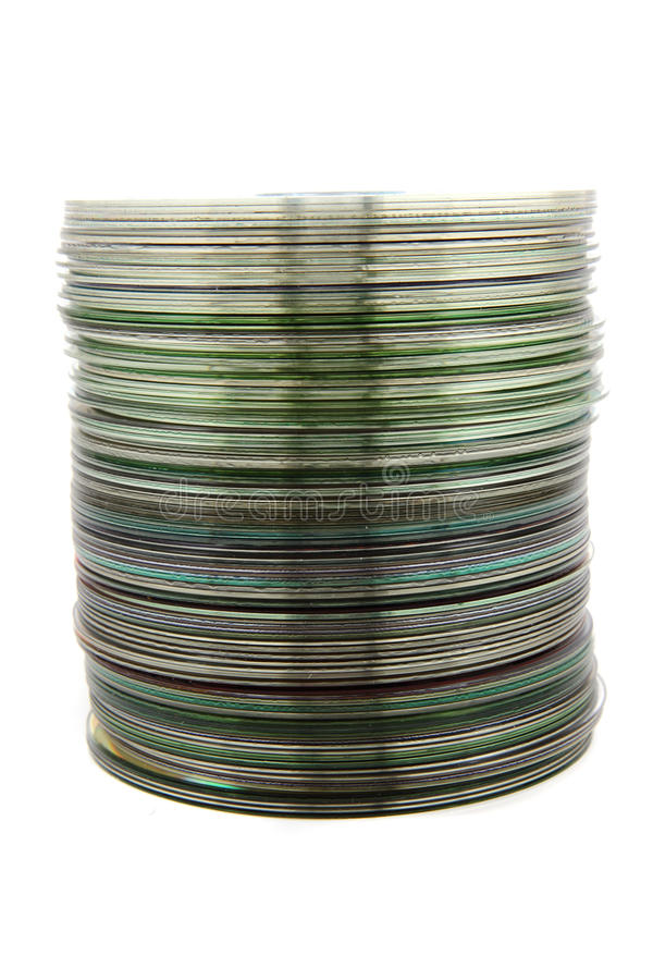 Free Spindle Of DVD Royalty Free Stock Photos - 19496478