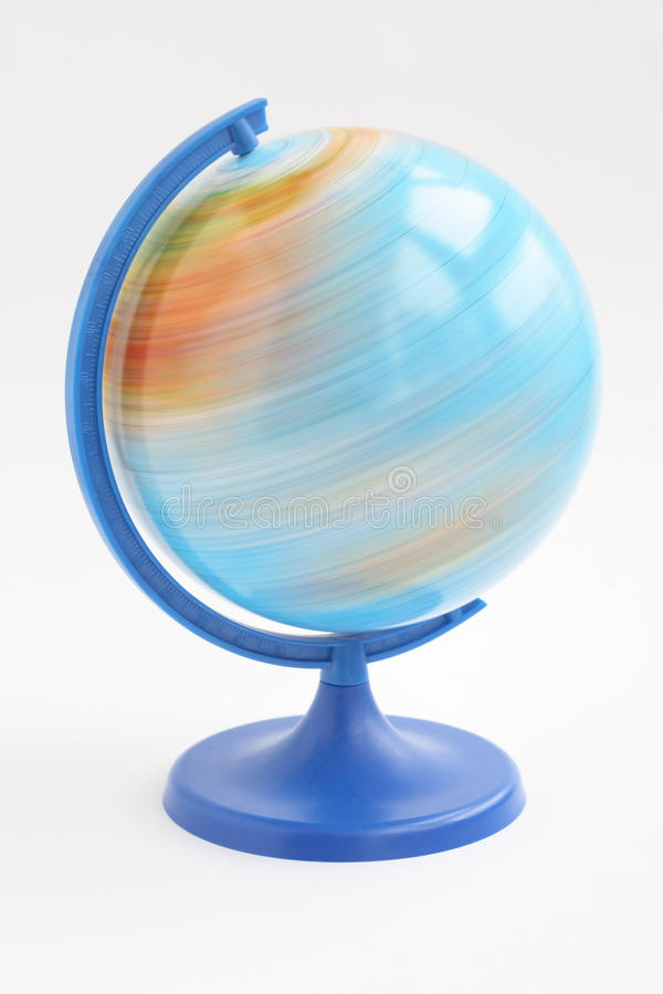 Download Spining globe stock image. Image of miniature, environment - 12004753