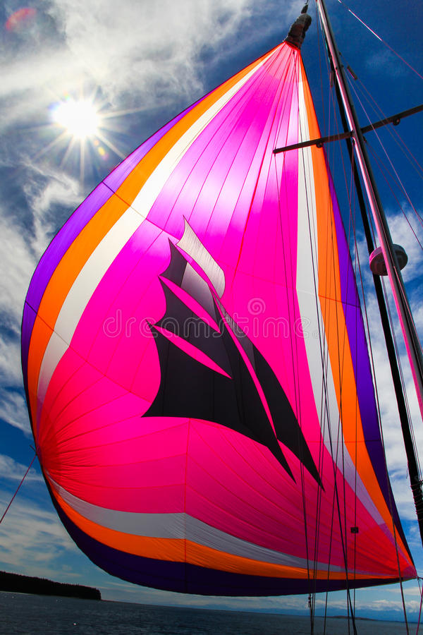 Spinnaker de vol images stock