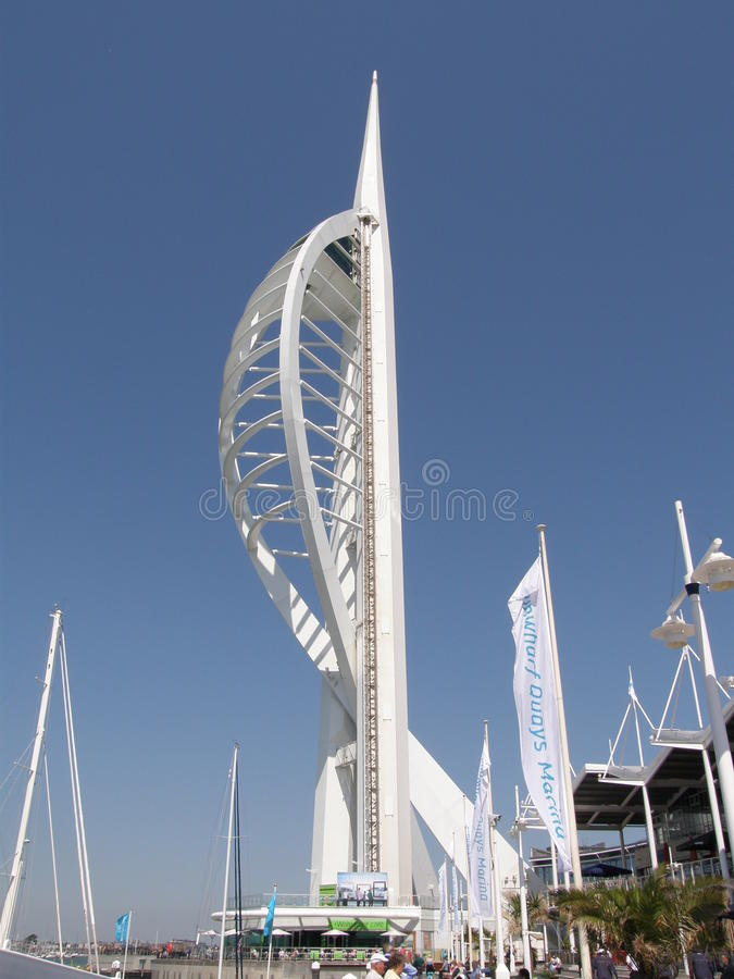 Download Spinnaker Tower editorial image. Image of elegant, portsmouth - 14798870
