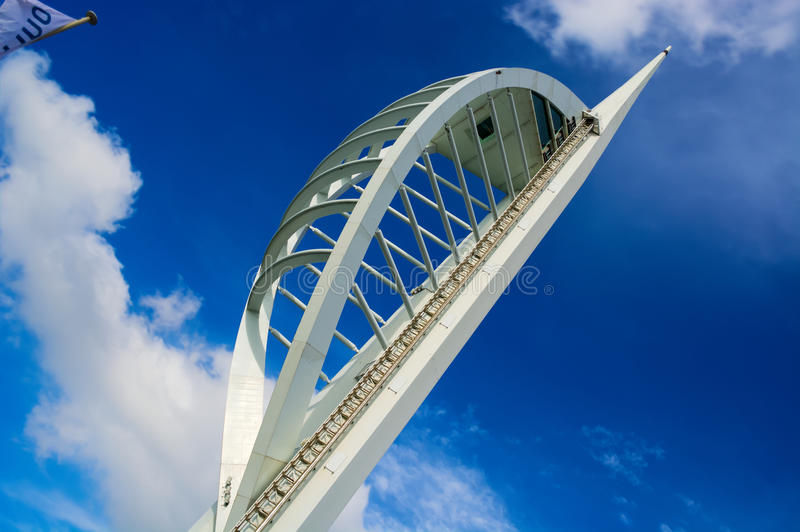 Spinnaker Tower royalty free stock photography