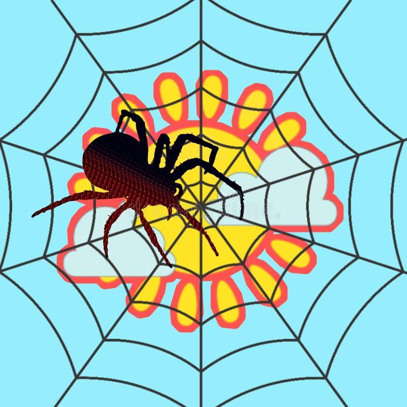 Spinne 1 stockbilder