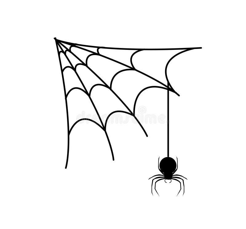 Spinne vektor abbildung