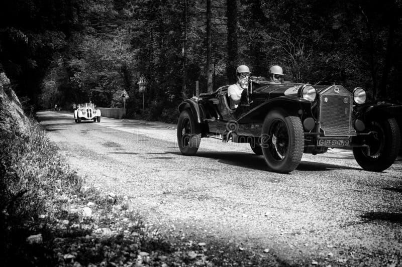 SPINNE CASARO 1929 LANCIA-LAMBDAS TIPO 221 lizenzfreies stockbild