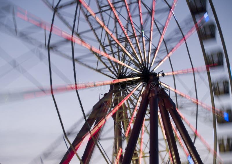 Spinnendes Rad stockfotografie
