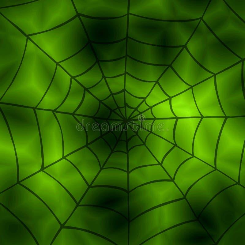Spinnennettohintergrund lizenzfreie abbildung