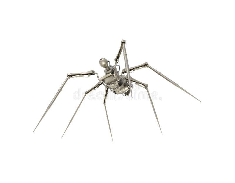 Spinnenspion vektor abbildung