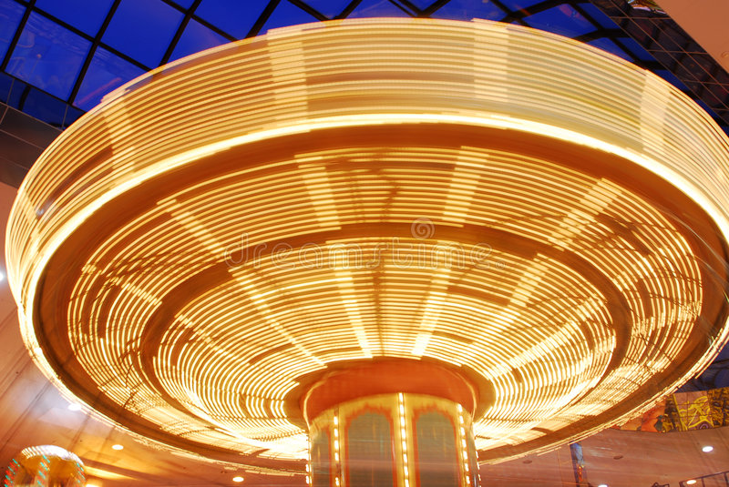 Download Spinner in funfair stock image. Image of mall, enjoyment - 4856897