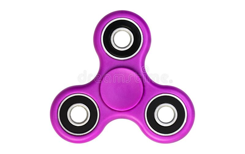 Spinner. Pink spinner isolated on white background royalty free stock photos