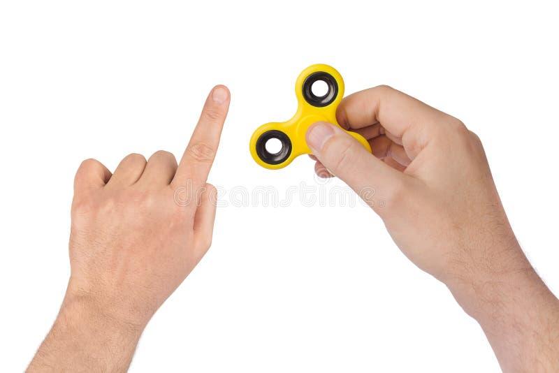 Spinner ter beschikking stock afbeelding