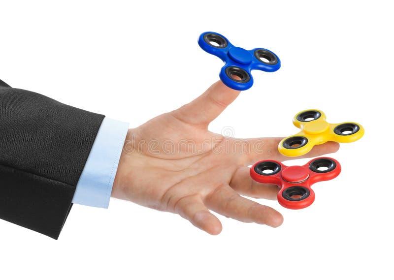 Spinners ter beschikking royalty-vrije stock foto's