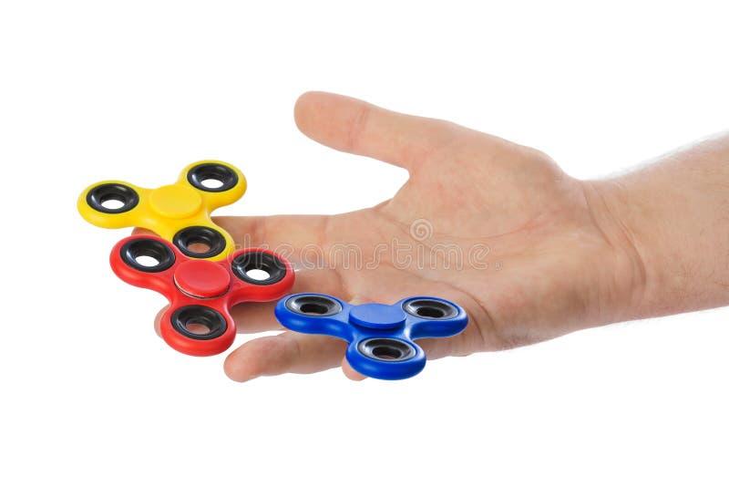 Spinners ter beschikking royalty-vrije stock afbeelding