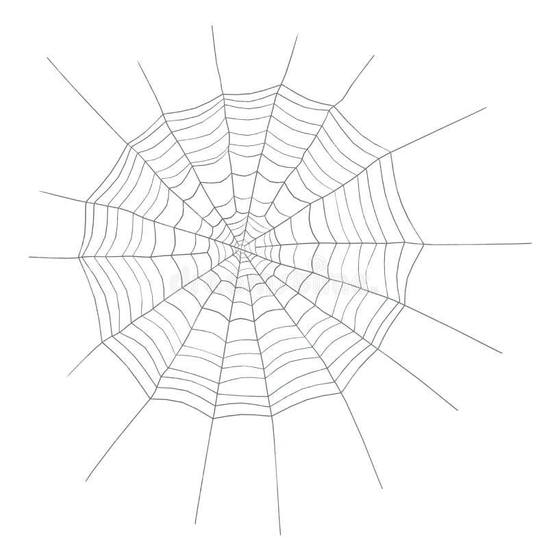Spinnewebronde stock afbeeldingen