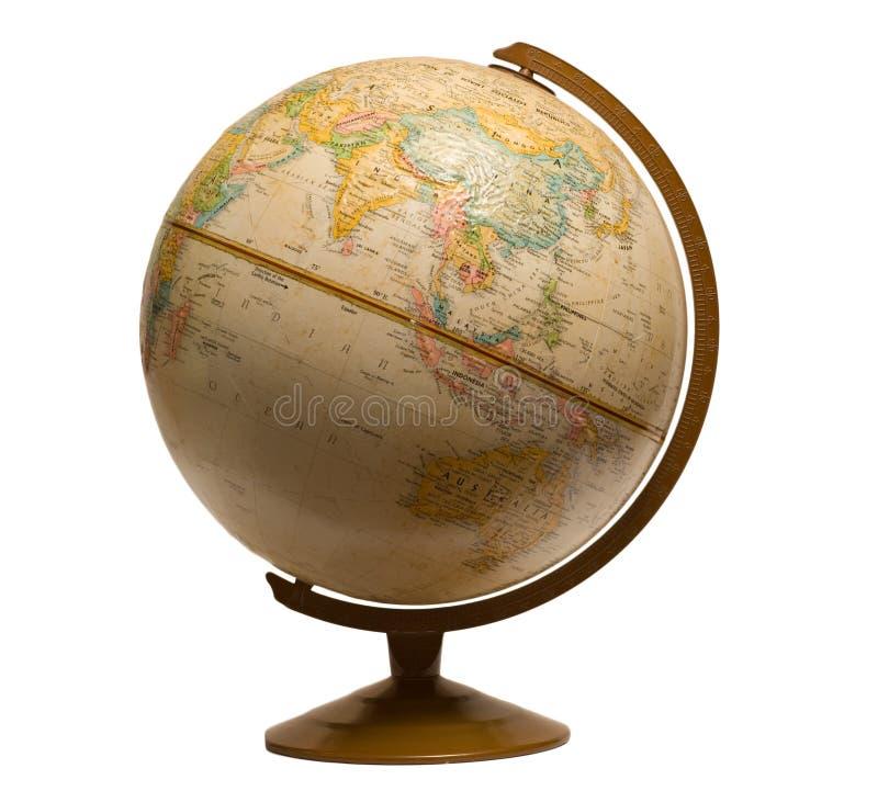 Spinning Globe royalty free stock image