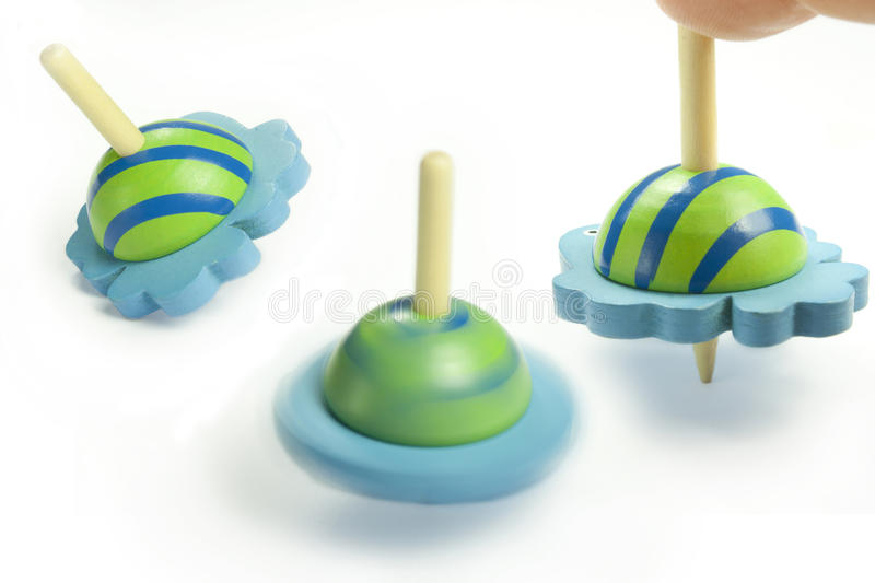 Download Spinning top stock image. Image of green, action, movement - 26393079