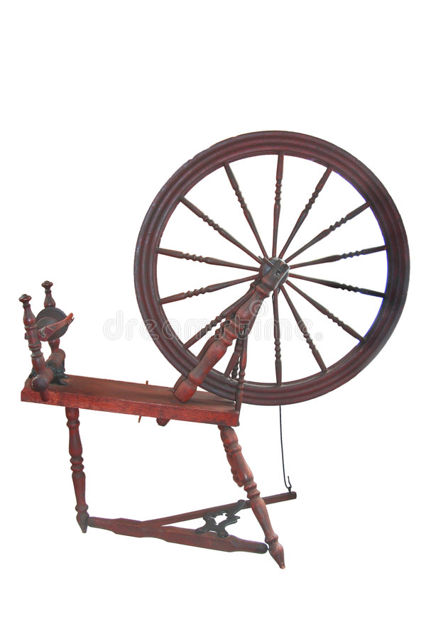 Download Spinning wheel stock photo. Image of loom, weaving, fleece - 6996434
