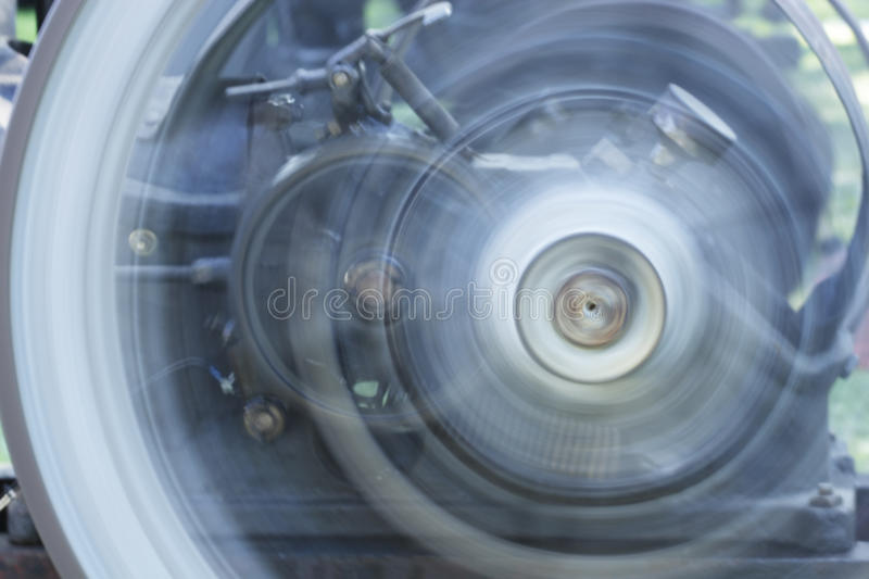 Spinning Wheels stock image