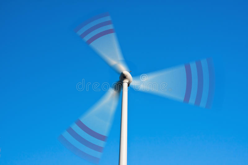 Download Spinning wind turbine stock photo. Image of generator - 30515874