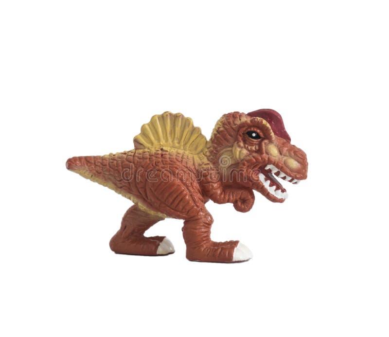 Spinosaurus младенца изолированное на белой предпосылке стоковое фото
