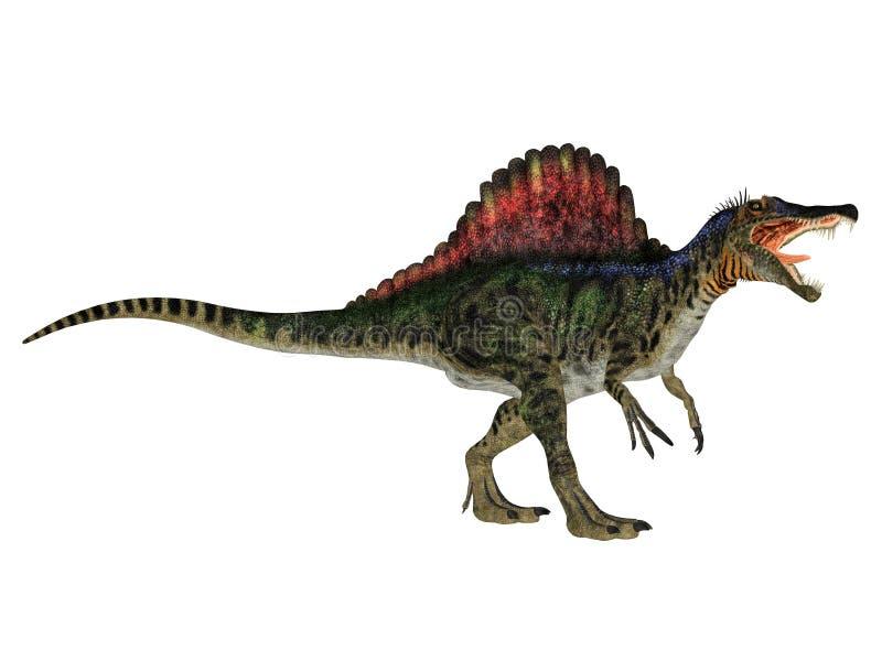 Spinosaurus ilustração do vetor
