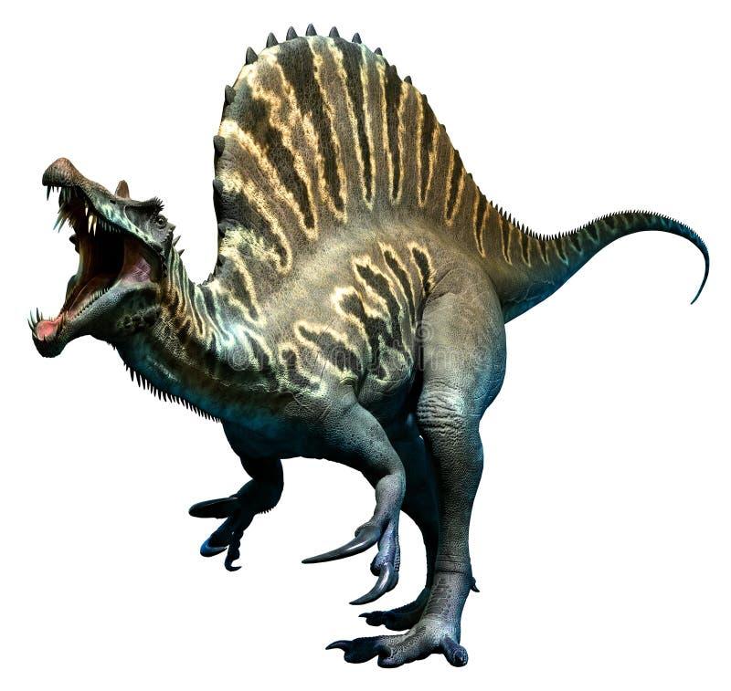 Spinosaurus royalty-vrije illustratie