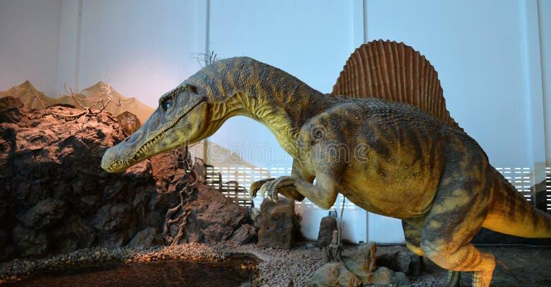 Spinosaurus dinosaur royaltyfri fotografi