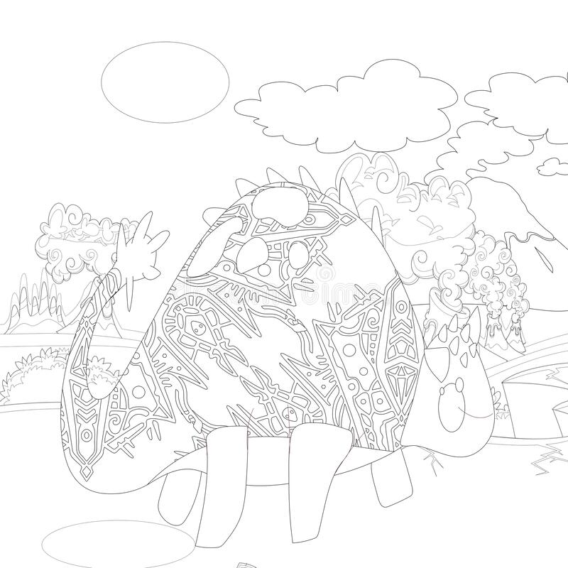 Dinosaur Coloring Pages Stock Illustrations – 430 Dinosaur Coloring Pages  Stock Illustrations, Vectors & Clipart - Dreamstime