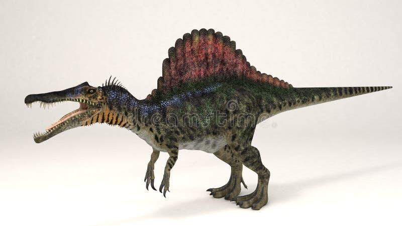Spinosaurus-Dinosaurier lizenzfreie stockfotos