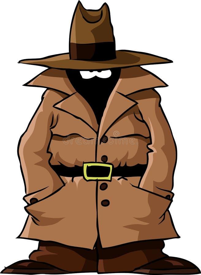 Spion stock abbildung