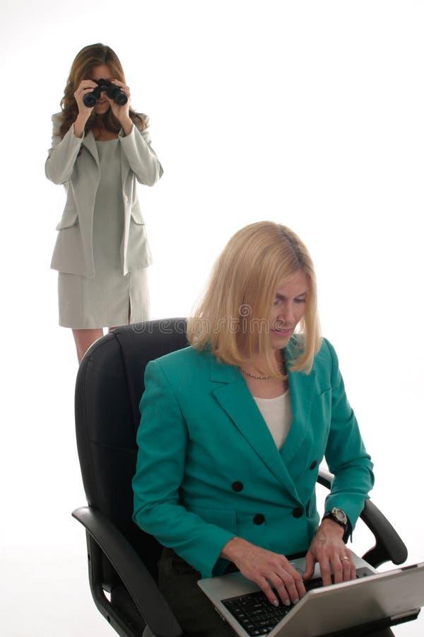 Spionaggio corporativo 2 fotografia stock libera da diritti