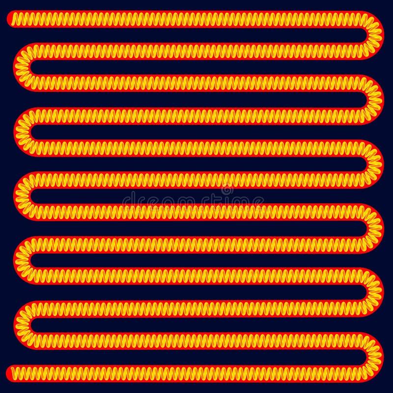 spiraal vector illustratie
