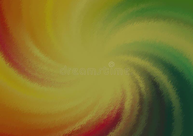 Spiraal gekleurd achtergrondgradiëntbehang royalty-vrije illustratie