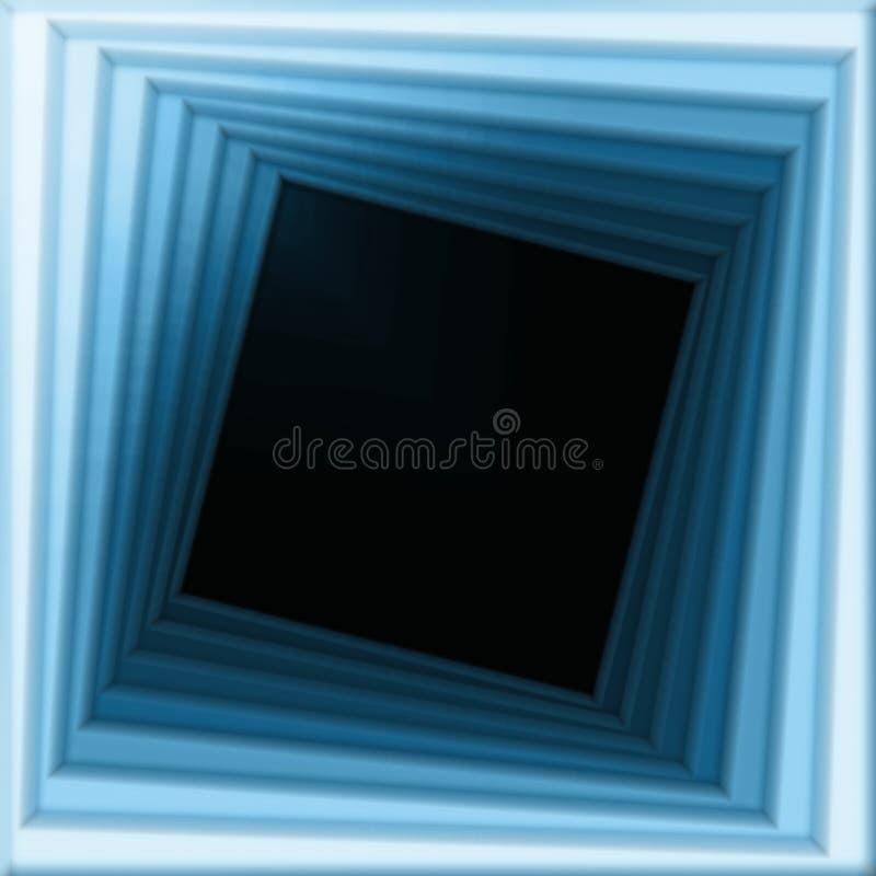 Spiraalvormig frame stock illustratie