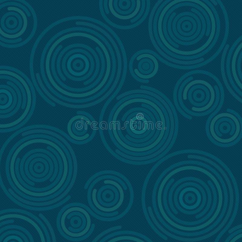 Spiraalvormig vectorpatroon vector illustratie