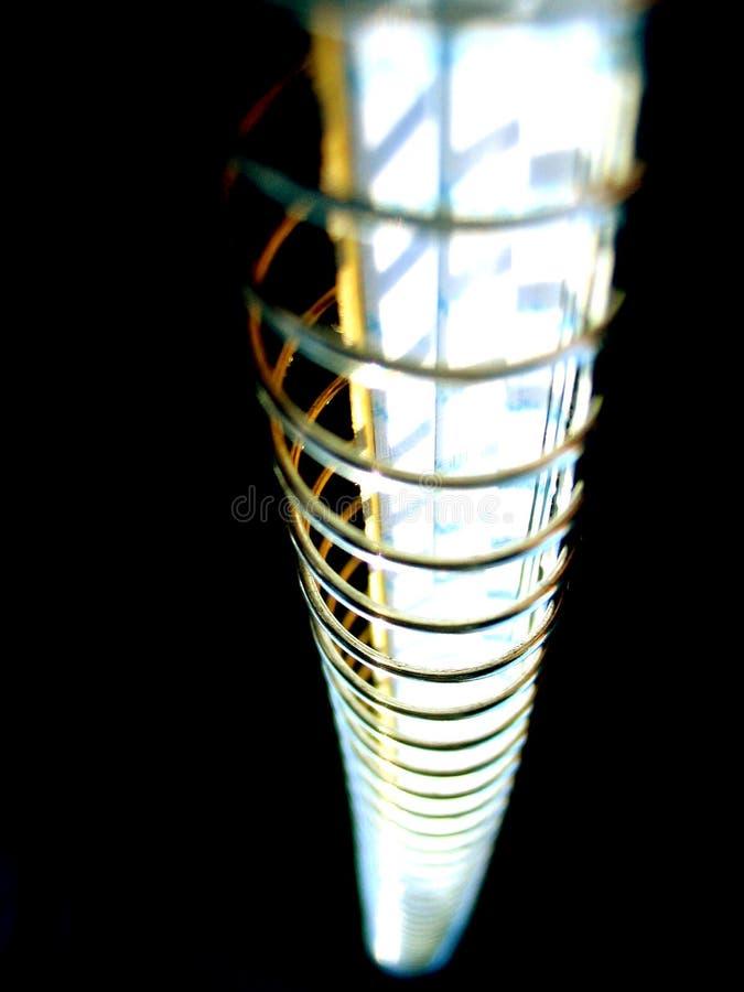 Spiraalvormige Notitieboekjeschroef Stock Foto