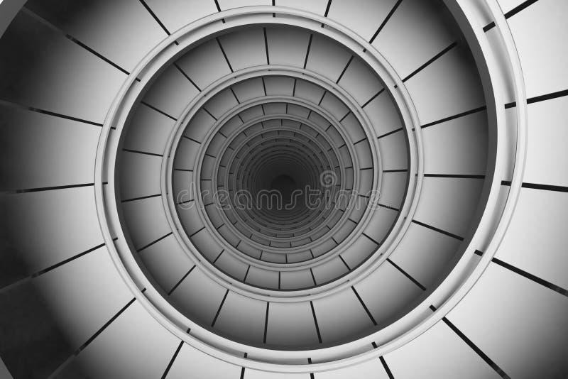 Spiraalvormige samenvatting royalty-vrije stock afbeeldingen